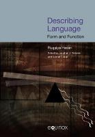 Describing Language: Form and Function