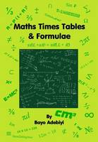 Maths Times Tables & Formulae