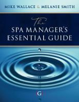 The Spa Manager's Essential Guide