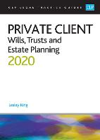 Private Client: Wills, Trusts and...