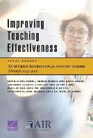Improving Teaching Effectiveness:...