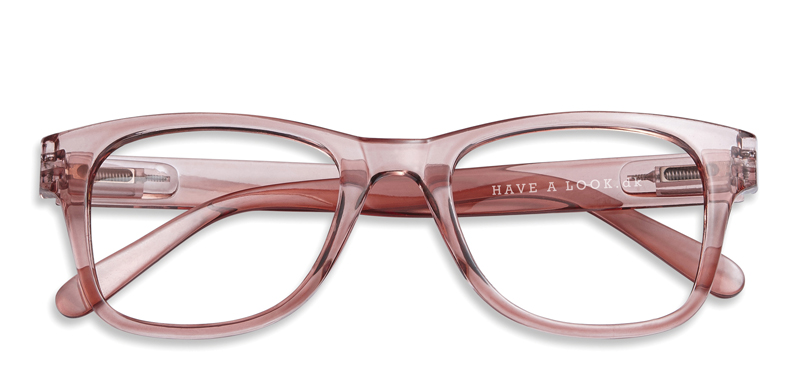 Type B Reading Glasses Coral +2.0