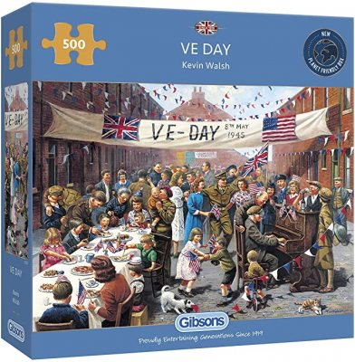 VE DAY 500PC JIGSAW PUZZLE