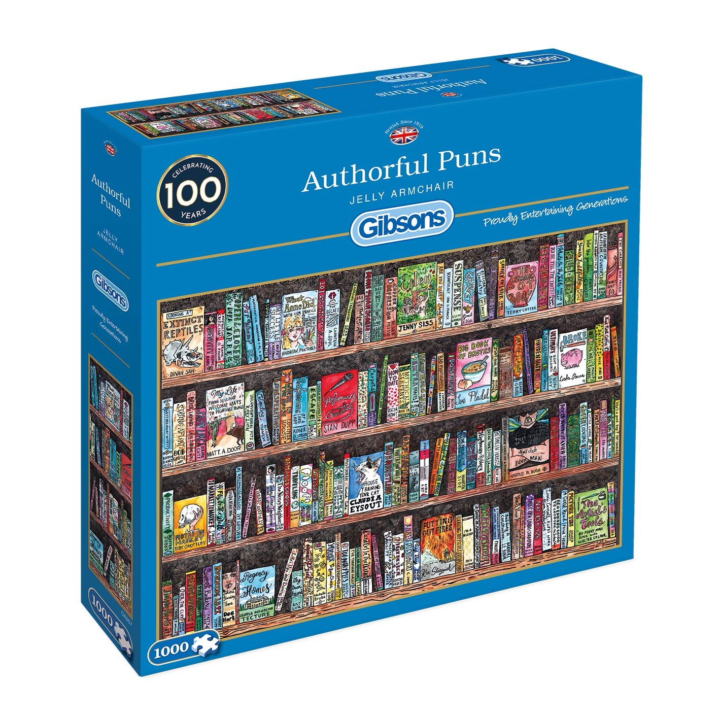 AUTHORFUL PUNS 1000PC JIGSAW
