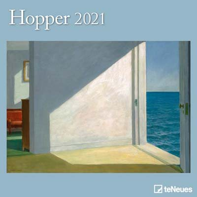 Edward Hopper Wall Calendar 2021