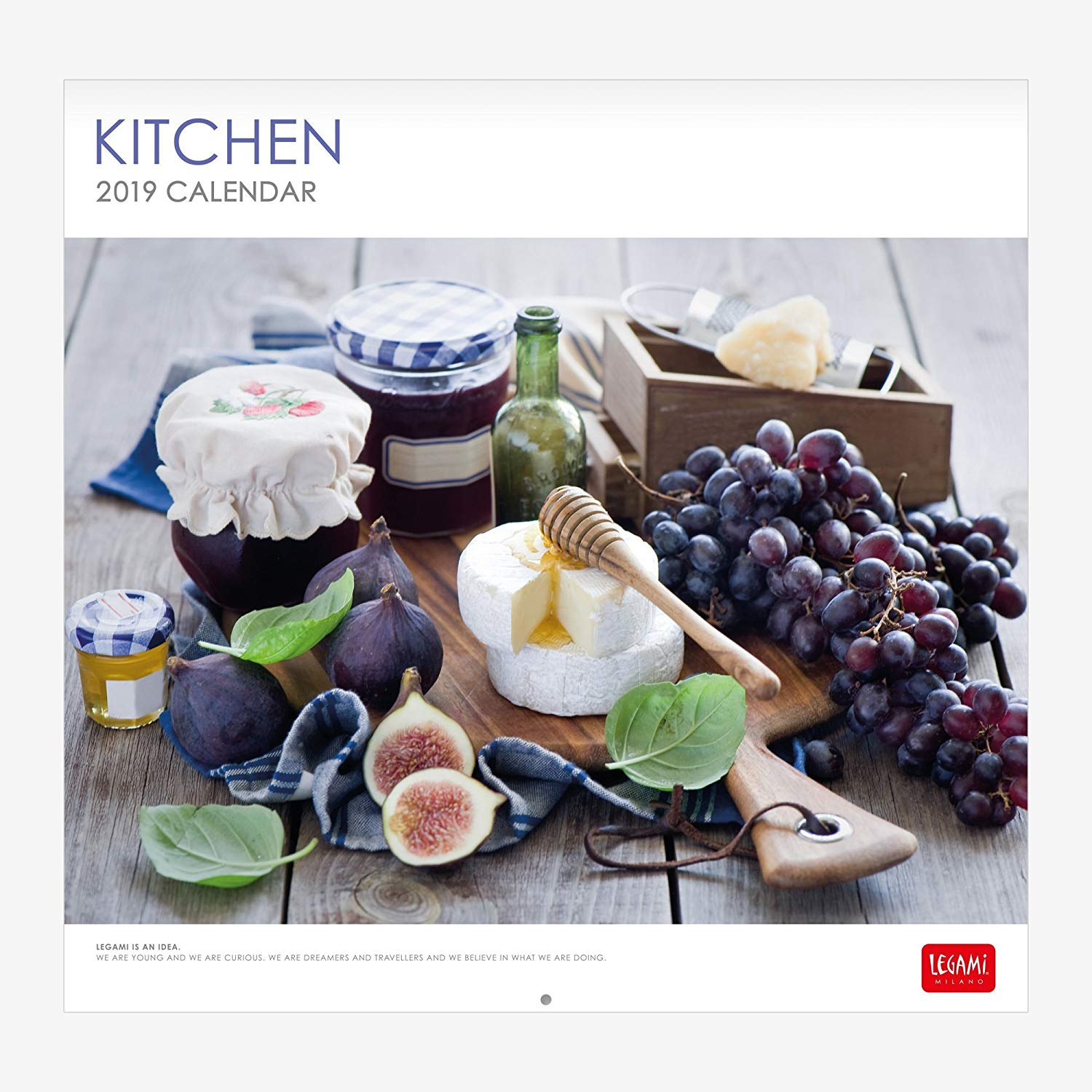 KITCHEN 12 MONTH CALENDAR (PHOTO)