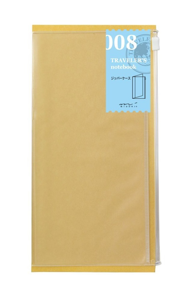 Traveler's Notebook Zipper Pocket 008
