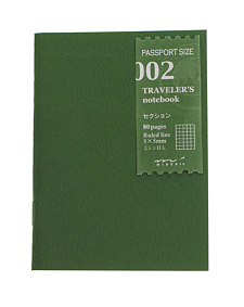 Traveler's Passport Notebook Grid...