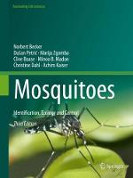 Mosquitoes: Identification, Ecology...