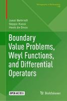 Boundary Value Problems, Weyl...