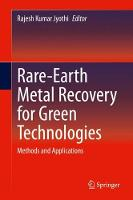 Rare-Earth Metal Recovery for Green...