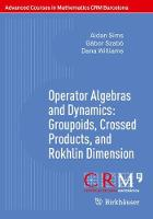 Operator Algebras and Dynamics:...