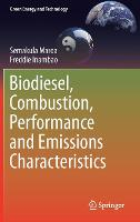 Biodiesel, Combustion, Performance ...