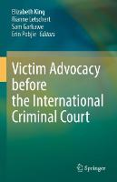 Victim Advocacy before the...