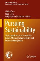 Pursuing Sustainability: OR/MS...