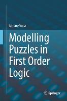 Modelling Puzzles in First Order Logic