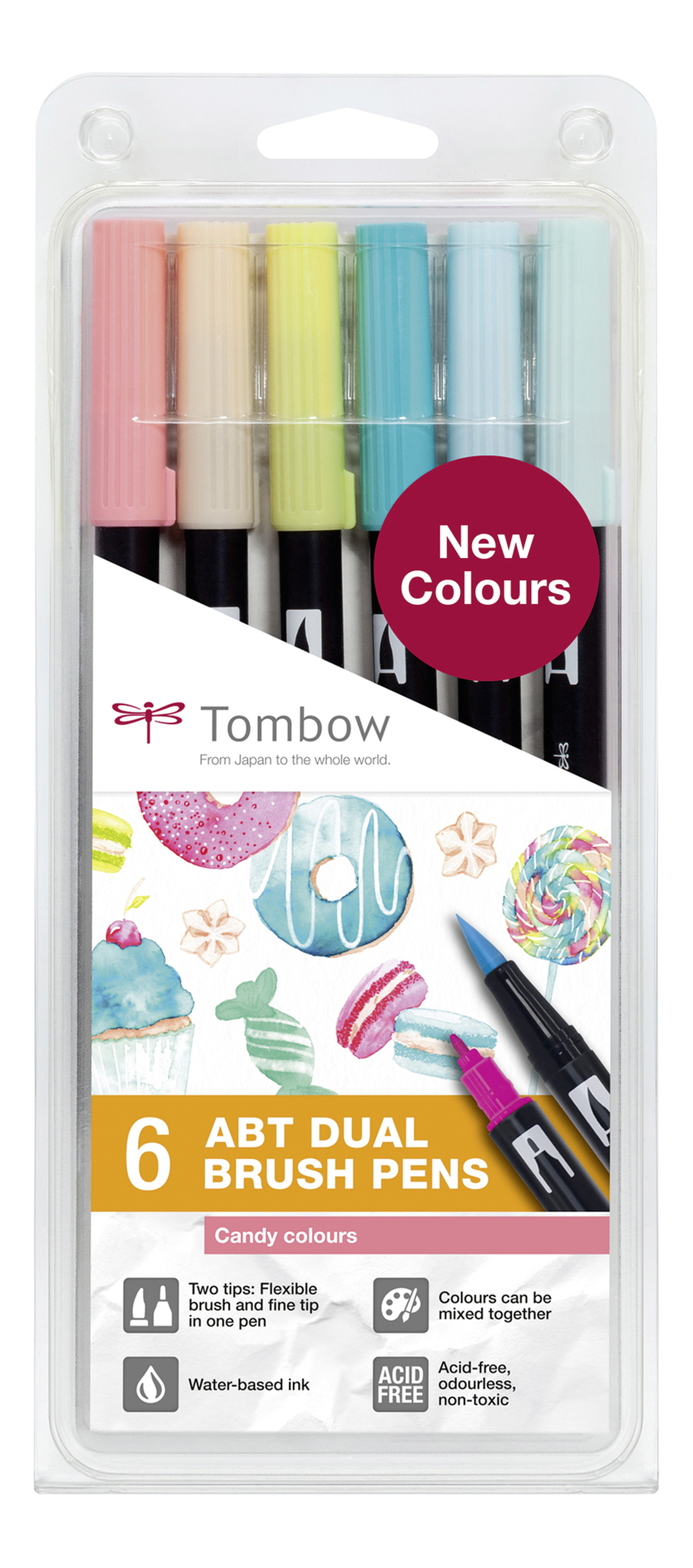 Tombow Dual Brush Pens Candy Colour...