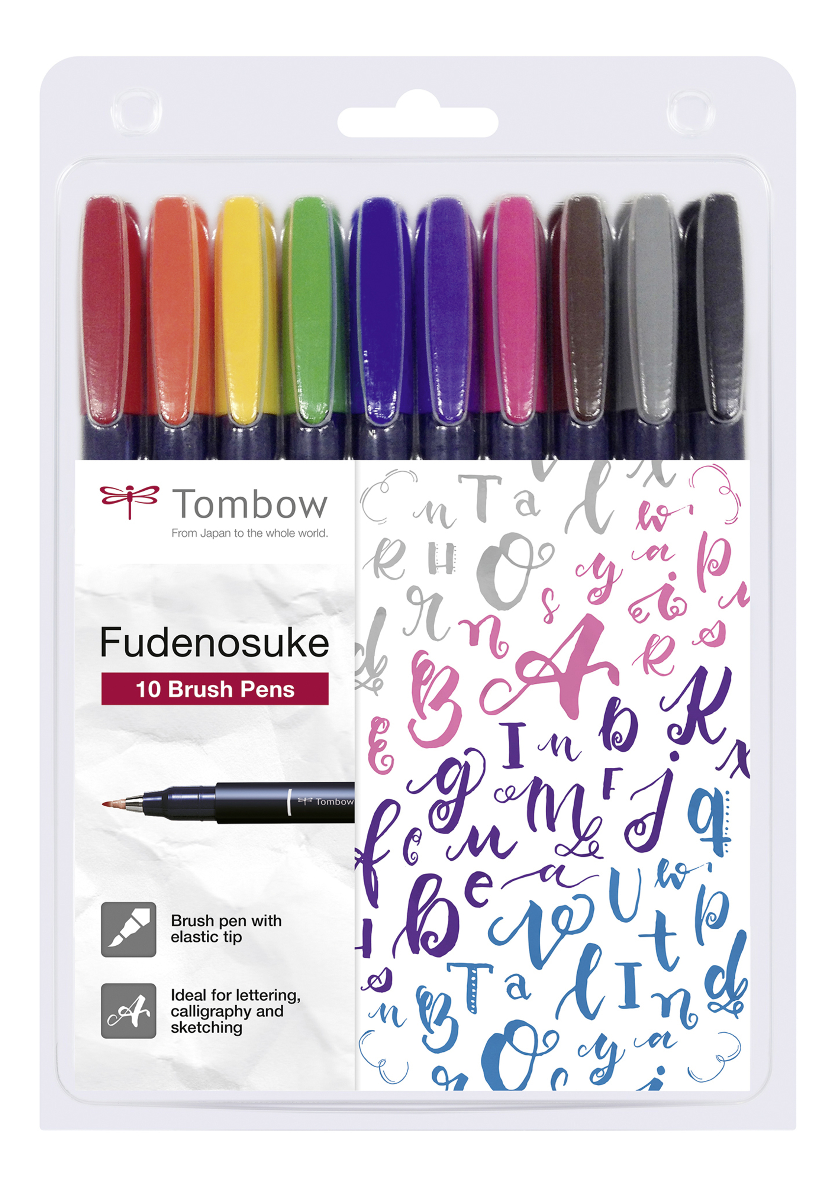 Fudenosuke Colour Calligraphy Pen ...