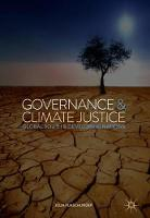 Governance and Climate Justice: ...