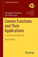 Convex Functions and Their...