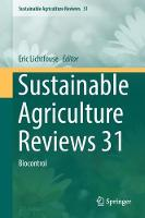 Sustainable Agriculture Reviews 31:...