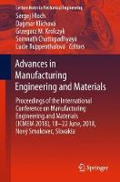 Advances in Manufacturing Engineering...