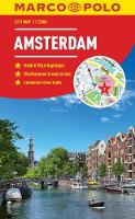Amsterdam Marco Polo City Map 2018