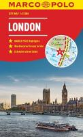 London Marco Polo City Map 2018