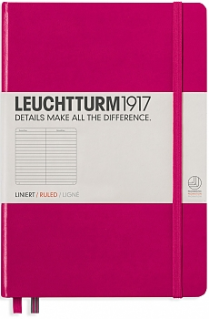 Berry Medium Ruled Notebook