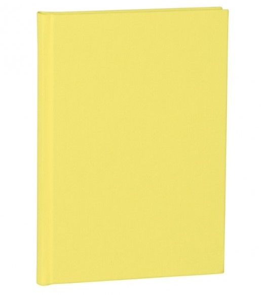 Lemon Dotted Paper A5 Notebook