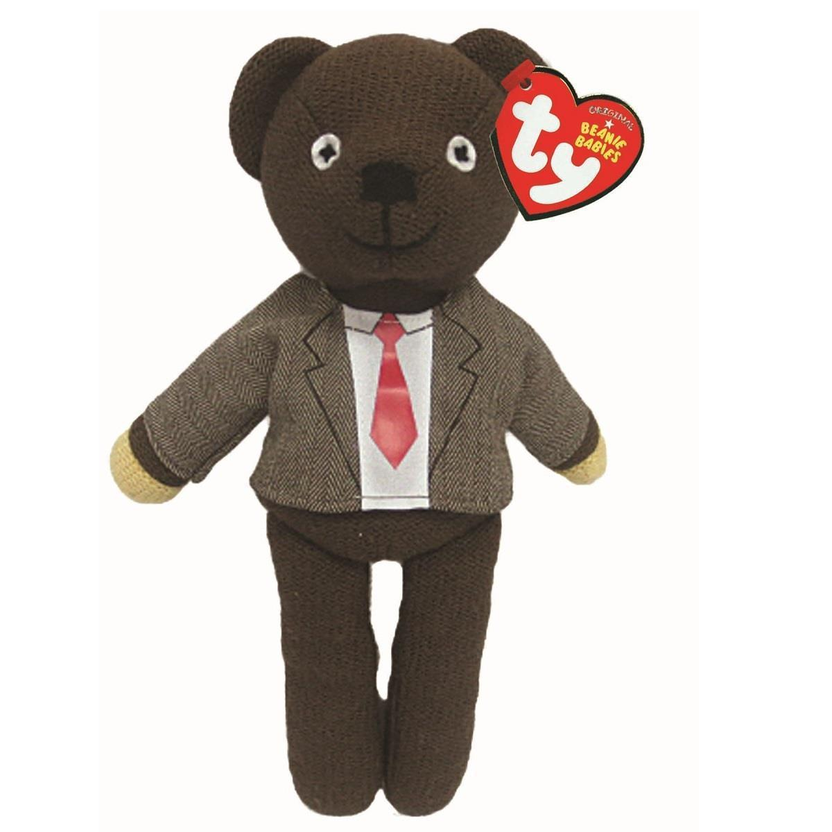 Mr Bean Teddy with Jacket and Tie