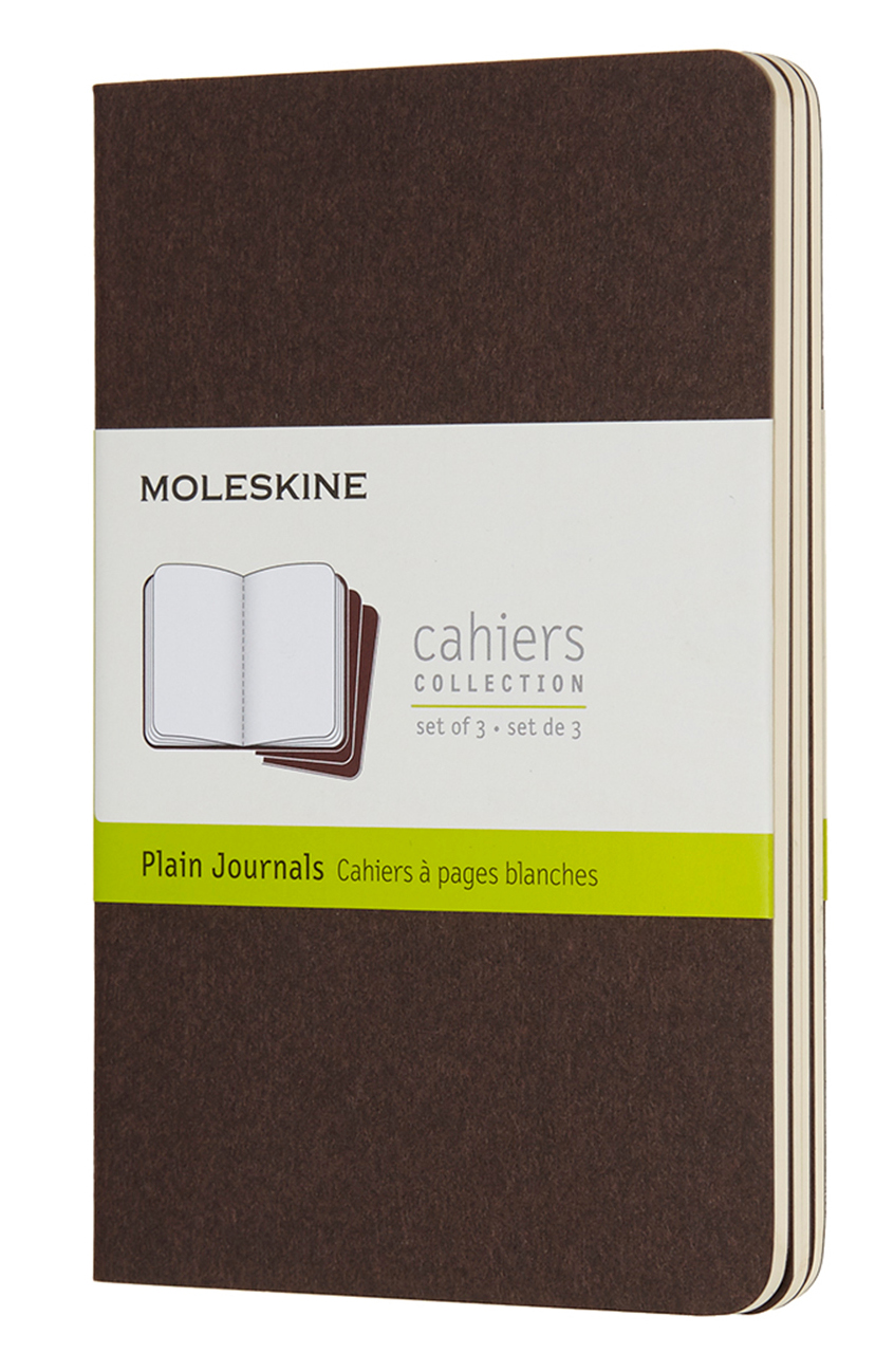 Cahier Pocket Plain Coffee Brown...