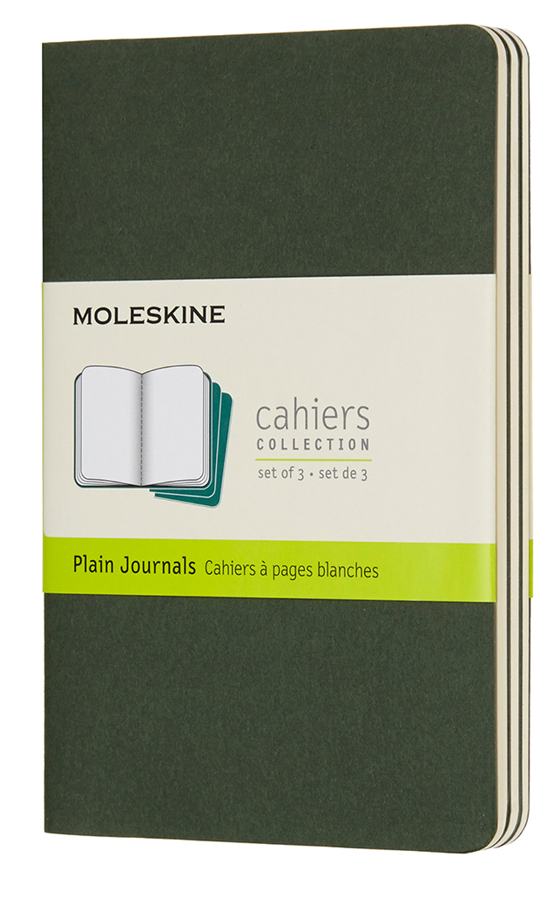Cahier Pocket Plain Myrtle Green...