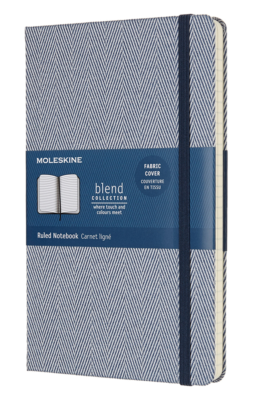 Blue Blend Large Ruled Notebook