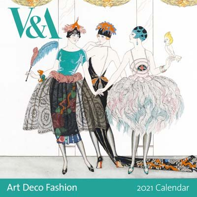 V&A Art Deco Wall Calendar 2021