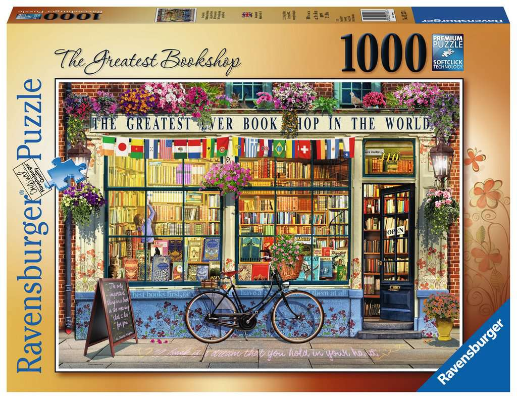 The Greatest Bookshop 1000pc Jigsaw