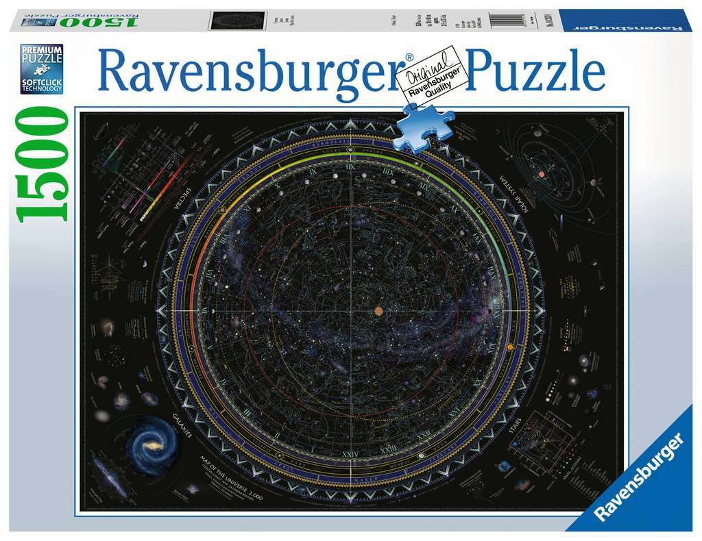 MAP OF THE UNIVERSE 1500PC JI