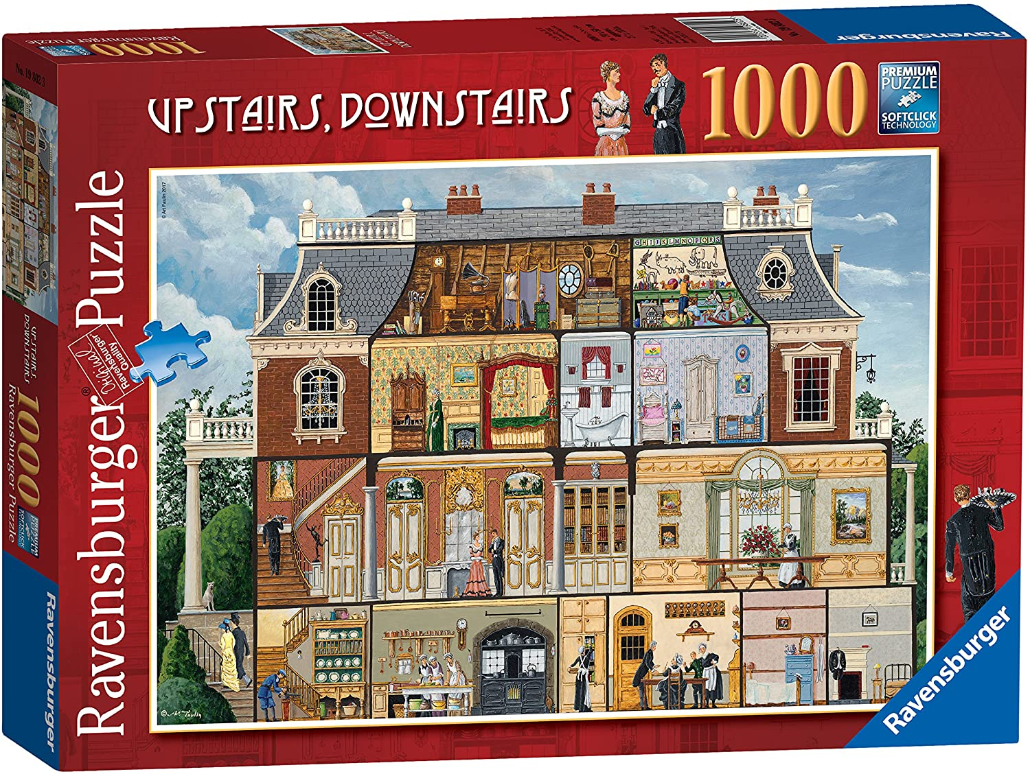 UPSTAIRS DOWNSTAIRS 1000PC JI