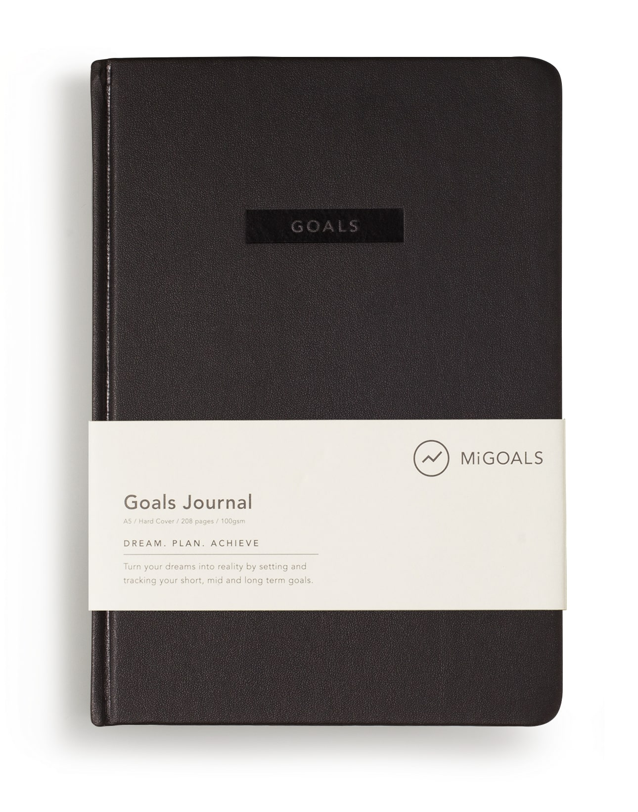 Goals Journal Black