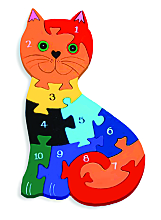 Cat Numbered Jigsaw
