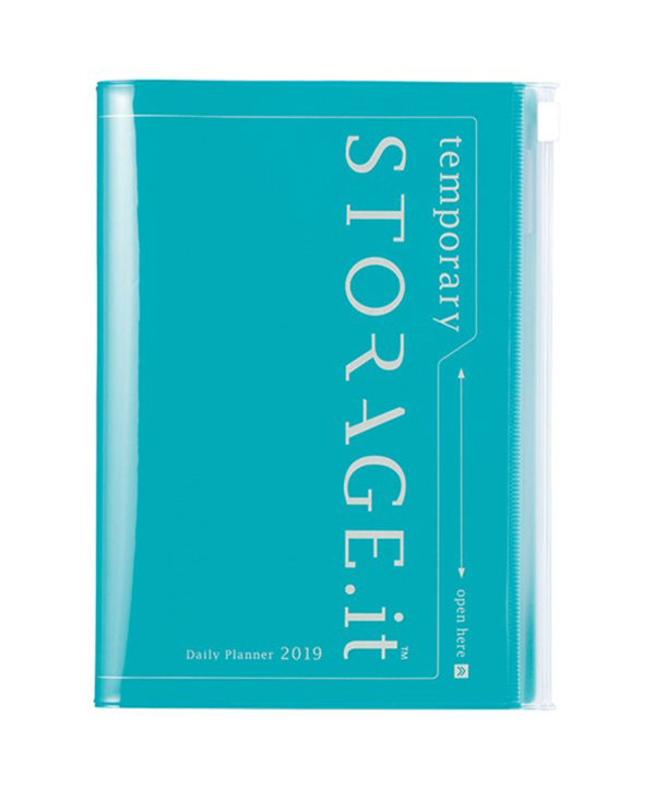 Storage.it Turquoise Daily 12 Diary 2019