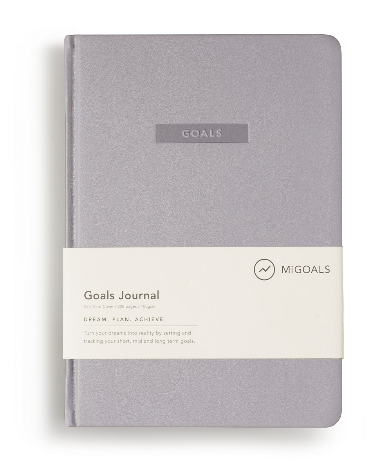 Goals Journal Grey