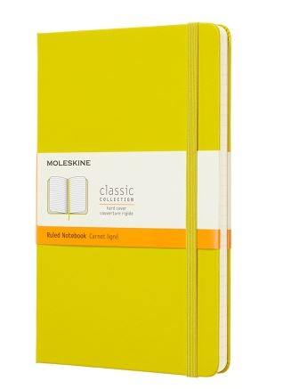 Dandelion Yellow Large Ruled Notebook