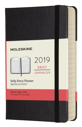 2019 Black Pocket Hardcover Daily...