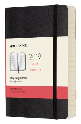 2019 Black Pocket Softcover Daily...
