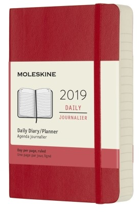 2019 Red Pocket Softcover Daily...