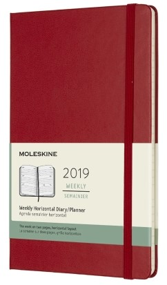 2019 Medium Hardcover Horizontal...