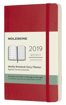 2019 Red Pocket Softcover Weekly...