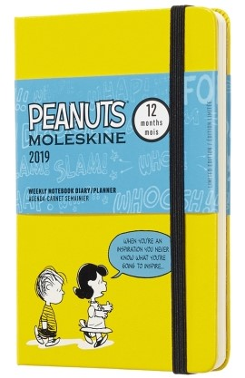 2019 Peanuts Pocket Hardcover Weekly...