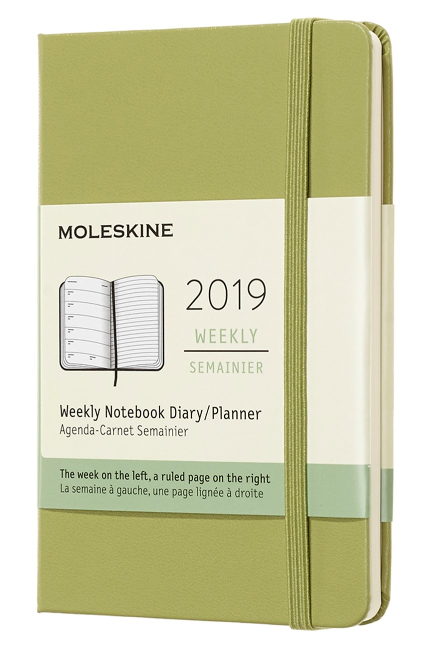 2019 Lichen Green Pocket Hardcover...